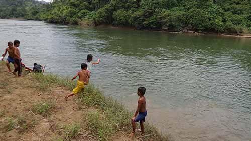 Bocah 10 Tahun Hilang di Sungai Pengarutan Sorek Pelalawan