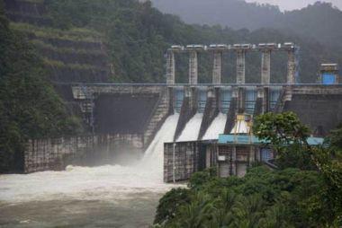Curah Hujan Naik, Elevasi Waduk PLTA Kotopanjang Kampar Masih di Bawah Normal