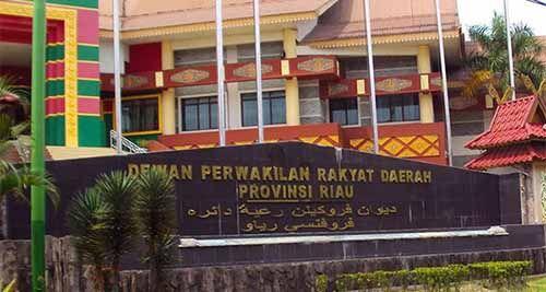 Rapat Paripurna DPRD Riau Penyampaian Hasil Revisi Tatib Pemilihan Wakil Gubernur Dihujani Interupsi