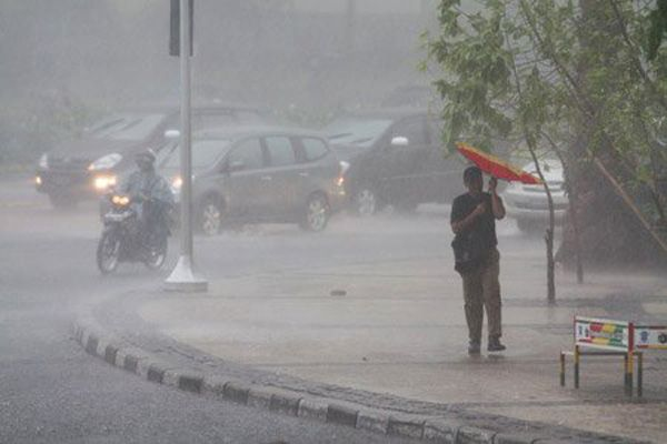 Info Cuaca: Hujan Diperkirakan Masih Melanda Beberapa Wilayah Riau