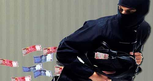 Berikut Ciri-ciri Perampok Nasabah BRI Kempas Inhil yang Kini Diburu Polisi