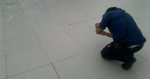 Belum Diresmikan, Lantai Keramik Gedung Daerah Siak yang Menyedot Anggaran Rp140 Miliar Sudah Pecah-pecah
