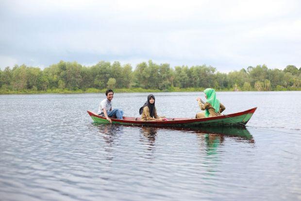 """Keren.... Bukan Hanya Mangrove Mengkapan Destinasi Wisata di Kabupaten Siak, Kini Sudah Ada Danau Naga Sakti Dosan bak """"Danau Tobanya"""" Provinsi Riau"""