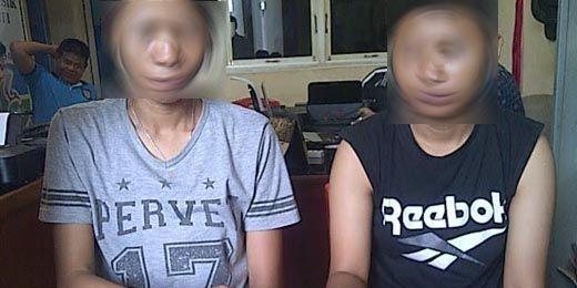 Dua Perempuan Pengedar Pil Ekstasi Berlogo <i>Love</i> di Dumai Ditangkap
