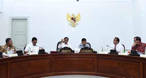 Temui Jokowi, Gubernur Riau Berharap Bantuan Dana