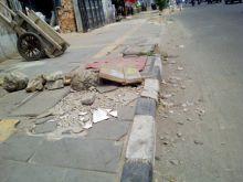baru-selesai-dikerjakan-trotoar-berbiaya-miliaran-rupiah-di-mandau-sudah-rusak